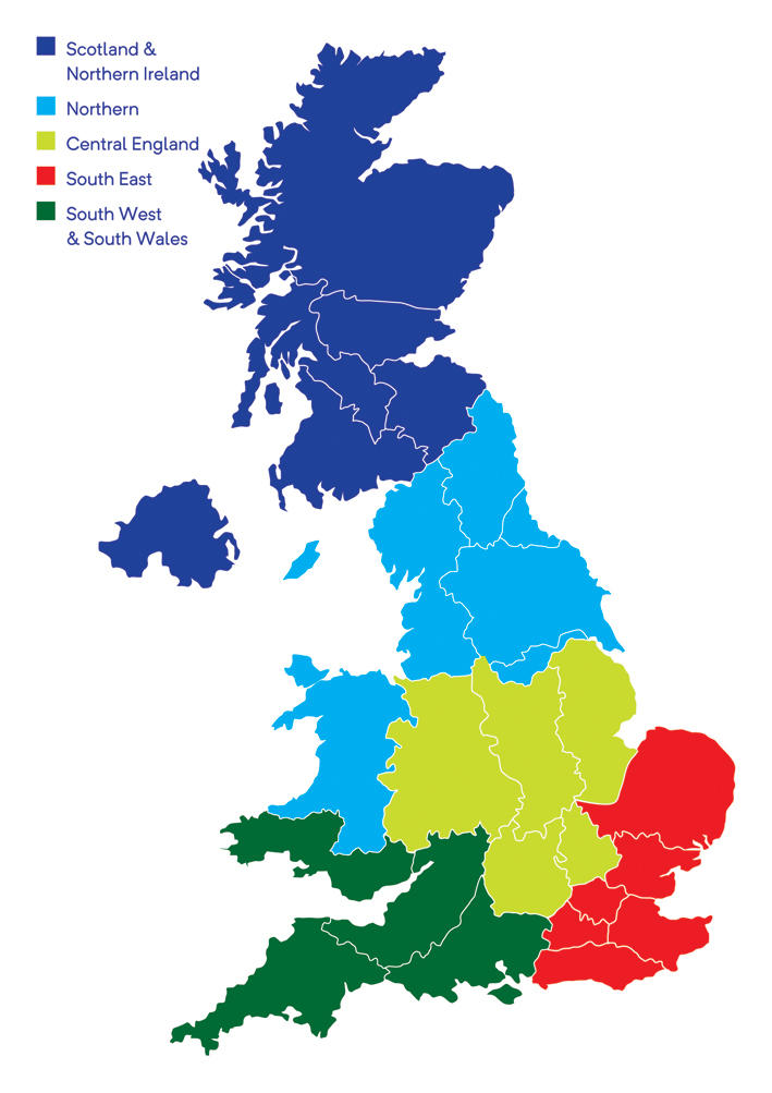 Map Of Uk Showing Regions.Bigga Regions Bigga