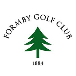 Formby Golf Club logo and link