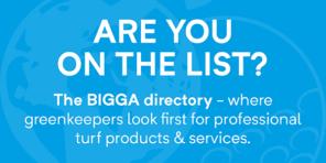 Advertise with BIGGA - logo