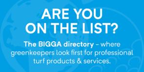 Advertise Here - the BIGGA Directory
