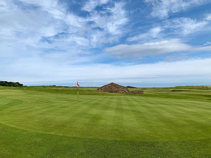 Dunbar Golf Course UK Sustane Turf Revival