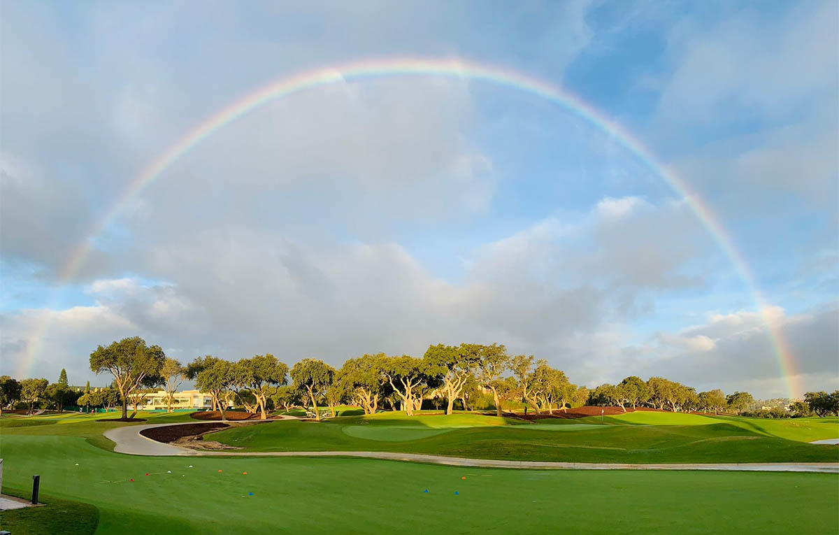 The San Roque Golf Club in Spain